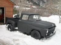 This is a good running 1957 Ford F100 with the short