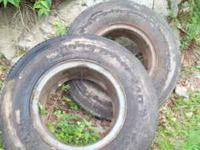WE HAVE 2 900R20 COOPER CMT M/T STEEL RADIAL TIRES IN