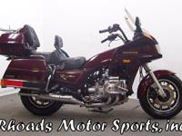 1986 Honda GL 1200 Interstate with 45,325 Miles.Have