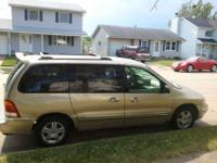 2001 Ford Windstar. The minivan runs and drives smooth