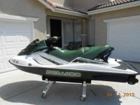 Just in time for summer!!This 2002 Sea Doo 3 passenger
