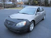 THIS IS A 2003 NISSAN ALTIMA 2.5 S WITH 186,900 MILES.