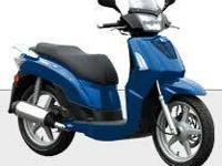 2009 KYMCO PEOPLE S 200, Blue, the kymco people s 200,