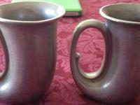 I have these two antique aluminum cups, I dont know