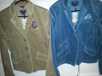 LOT: 2 AMERICAN EAGLE BLAZERS NEW WITH TAGS $25 ea/both
