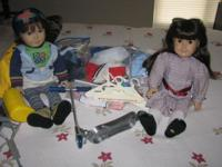 these two American girl dolls are my daughter Lindsey's