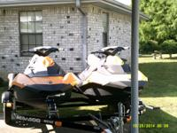 "FOR SALE: A PAIR OF ""BRAND NEW"" 2015 SEA-DOO SPARKS"