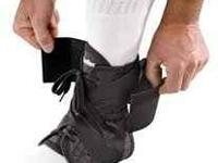 Very expensive ankle braces worn last year for