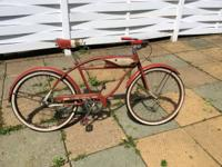 Offering my 2 antique bikes first is a all initial late