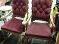 Two Antique Chairs, sold as a pair-not individually.