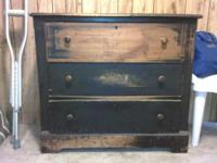 I have 2 Antique Dressers and 1 Pigeon holed Top