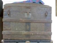 2 antique Steamer Trunks for sale $75.00 for the Square