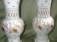 I have for sale 2 very rare, beautiful ornate Porcelain