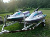 HELLO I HAVE 2 ARCTIC CAT JET SKIES FOR SALE THEY ARE