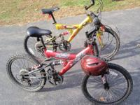 For sale 2 as new bicycles as pictured, shifter, hand