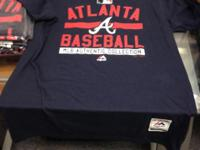 2 Atlanta Braves adult Medium t-shirts brand new w/
