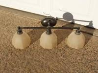 I have 2 used bathroom vanity light fixtures. Your