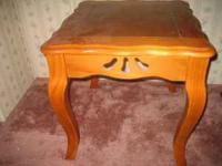 THESE 2 BEAUTIFUL END TABLES ARE ONLY $20.00 FOR BOTH.