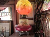I have two beautiful Victorian Lamps. One is A Library