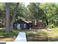 Almost an acre on the shores of Bass Lake. Level lot