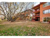 Serene oasis in the heart of Boulder. Updated 1240 SF