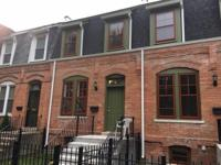 Complete gut rehab, brick 2 story historical row house