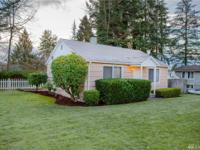 Great rambler situated on a 11,761 sf lot. Two