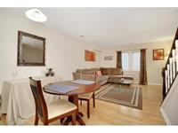 Beautifully remodeled, second floor townhouse unit on