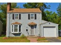 Charming Colonial home on quiet street. Many updates