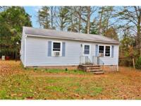Cute Vinyl Siding Ranch located on 1.64 Acres! Home