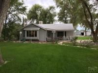 West of City Park. 2 bedroom, 1 bath home on one acre