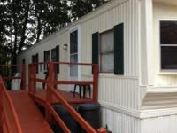 Affordable and clean 2 BR mobile home with storage shed