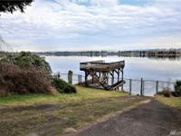 Rare Bakers Island waterfront home with boat ramp, dock