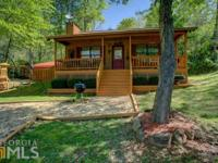 Motivated seller, this cozy and quaint cabin with lake