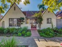 This charming 1926 Tudor home is adjacent to hip West