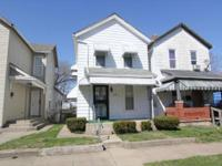 2 bedroom home with 1 bath. Newer windows, furnace &