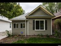 Beautiful bungalow cottage in Salt Lake City. All new