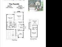 Penrith floor plan - Beautiful new end townhome in