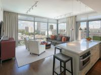 Sophisticated 8th floor unit with views of Downtown and