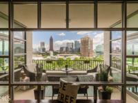 Incredible views overlooking Centennial Olympic Park
