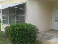 2 Bedroom, 2 Bath, Corner Unit Villa In 55+ Desired