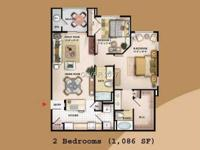Great ground floor unit with 2 bedrooms and 2