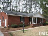 Great brick ranch on large lot, sold in combination