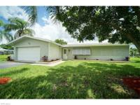 Direct gulf access pool home, eastern exposure with a