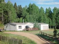 15.9 acres, Peak and pond views, pine and aspen forest,