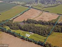 Picturesque 85-acre Certified Organic vegetable/grain