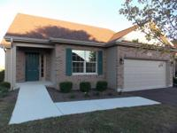 New construction~ranch end unit townhome is available