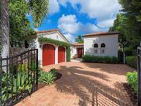 This distinct villa boasts an abundance of custom
