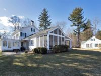 Enjoy an exceptional property nestled into the rural