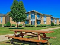 Large two bedroom apartment homes include plenty of